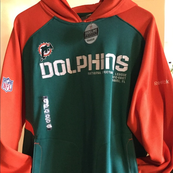 the latest 11228 3f406 Miami Dolphins NFL hoodie NWT